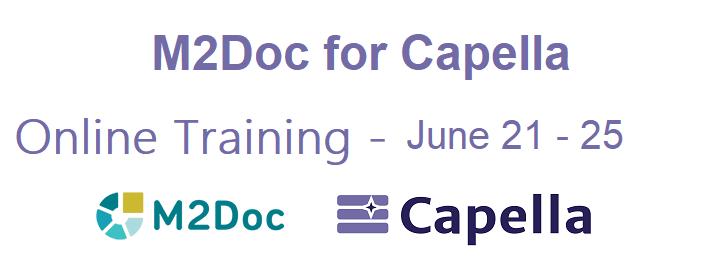 2021 Q2 - M2doc for Capella Training